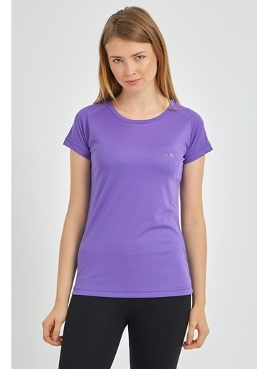 Slazenger Slazenger RELAX Kadın T-Shirt  Mor